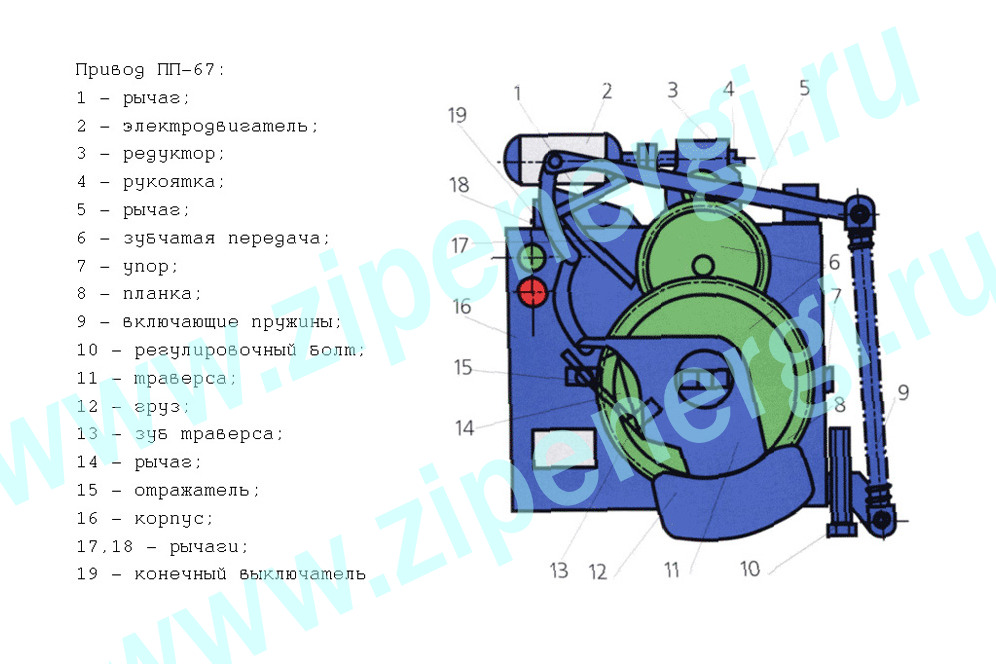ПП67 схема 1