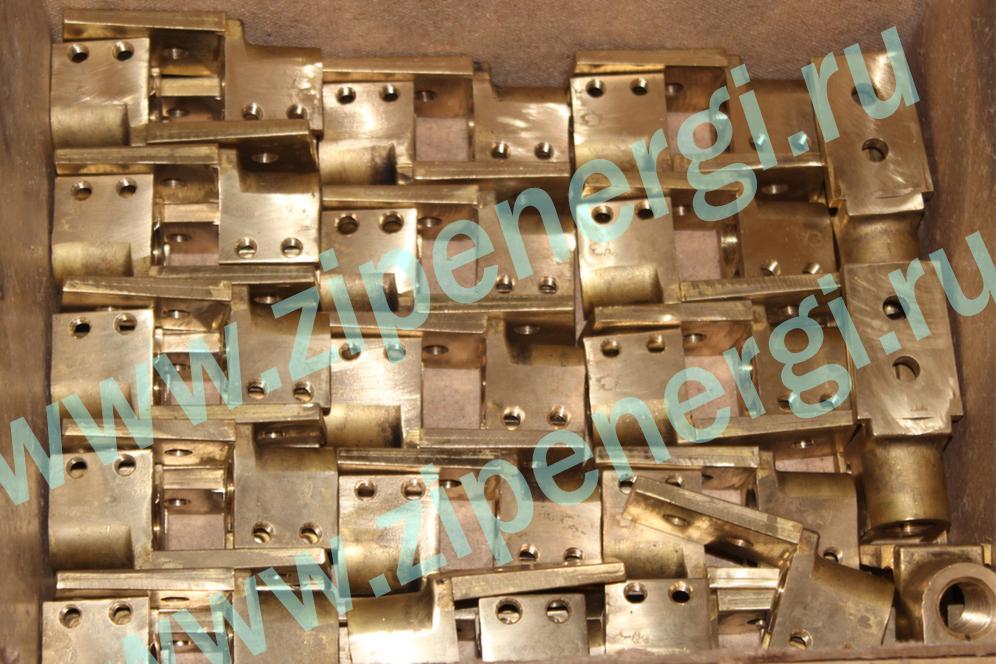 Зажим контактный НН М16 для ТМ(Г)-250 кВА из латуни ЛС-59