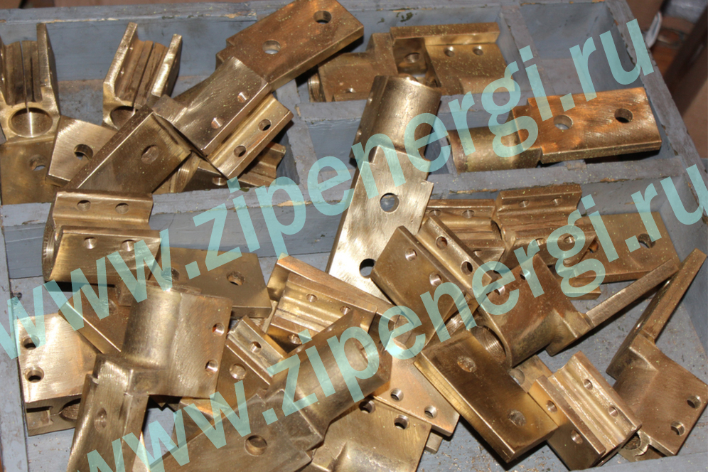 Зажим контактный НН М27 для ТМ(Г)-630 кВА из латуни ЛС-59