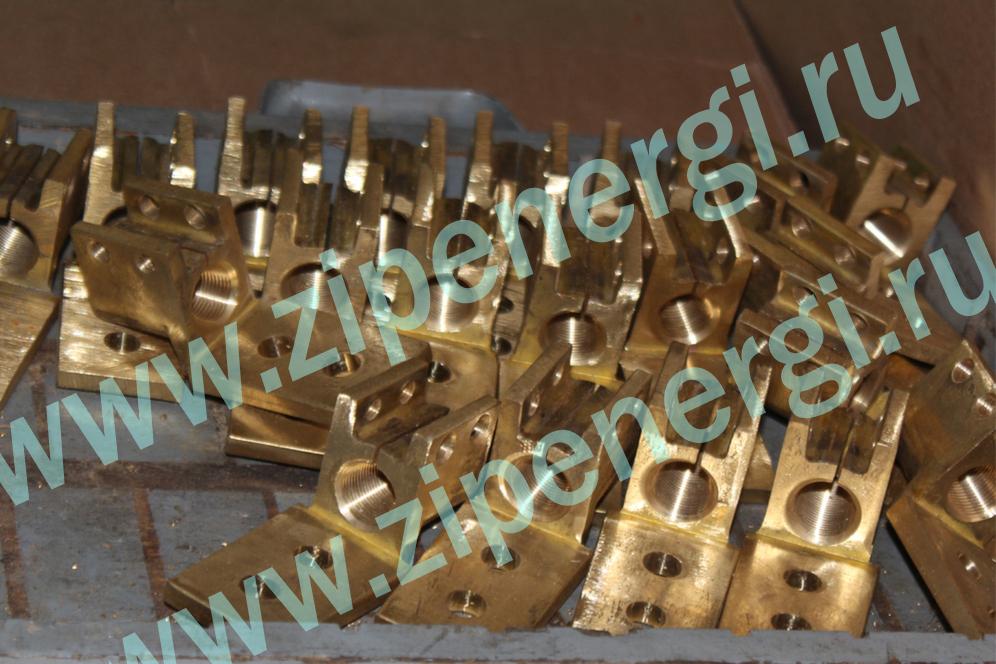 Зажим контактный НН М20 для ТМ(Г)-400 кВА из латуни ЛС-59